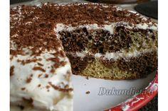 Мраморный торт на клейковине   Диета Дюкана