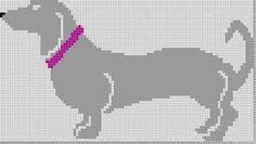 DIVNA'S SWEATERS: Dachshund knitting chart