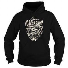 Cool CAPASSO Last Name, Surname Tshirt Shirts & Tees