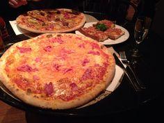 Biggest Pizza!  L'Osteria in Köln, Nordrhein-Westfalen