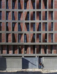 """Kahrizak Residential Project / CAAT Studio Kahrizak Residential Project / """"CAAT Studio"""" 25.May.2015. ArchDaily http://www.archdaily.com/633253/kahrizak-residential-project-caat-studio/"""