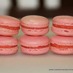 Basic French Macarons -perfect for beginners. Step by step directions with lots of tips for macaron success! Tea Cakes, Mini Cakes, Cookie Recipes, Dessert Recipes, Desserts, Buttercream Filling, Vanilla Buttercream, Sweet Treats, Favorite Recipes