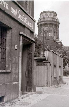 Near the Gendarmenmarkt, Berlin 1960.