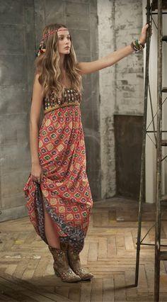 ☮ American Hippie Bohéme Boho Style ☮
