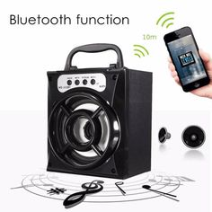 Bluetooth Wireless Portable LED Outdoor Super Bass USB/TF/AUX/FM Radio Speaker    Features:    1. Easy to carry,Support bluetooth wireless play function  2. Easy to operate. Support USB/ MP3/MP4/TF/FM/Bluetooth  3. High quality, good frequency response. Low power...
