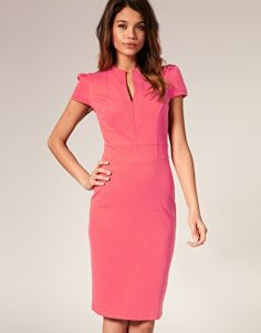 classy enough for work in a bold color and all-eyes-on-me shape.  just $71
