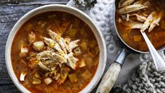 Whole chicken and vegetable soup - Adam Liaw - Good Food Australia Vegetable Soup With Chicken, Vegetable Soup Recipes, Chicken Soup Recipes, Chicken And Vegetables, Veg Soup, Cookbook Recipes, Cooking Recipes, Pork Stew, Roasted Cabbage