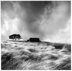 Fay Godwin, a noted British photographer, most widely known for her black-and-white landscapes of the British countryside and coast.
