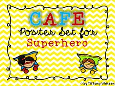 This product contains 4 superhero themed CAFE posters. These can be used as headers for a CAFE reading strategies bulletin board. This pack includes- Comprehension- Accuracy- Fluency- Expand Vocabulary If you like these posters, you may also like my Daily 5 Posters or my Daily 5/CAFE Poster Bundle This product is not endorsed by Gail Boushey & Joan Moser.