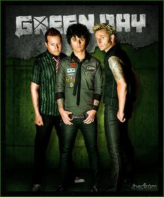 Green Day (I love Green Day soooo much i know all the lyrics to Jesus of Suburbia which is like 9 minutes long! haha I'm kind of obsessed)