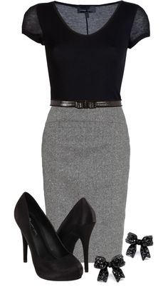 Sparkle work outfit I love this outfit! Work Outfit Love this outfit Mode Outfits, Office Outfits, Casual Outfits, Office Attire, Office Wear, Office Wardrobe, Casual Attire, Capsule Wardrobe, Winter Outfits