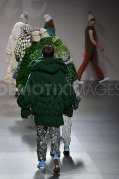 Mercedes Castro at Mercedes Benz Fashion Week - Madrid