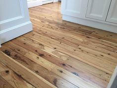timber flooring Cypress Pine with Synteko Water Based Pine Kitchen, Cypress Wood, Knotty Pine Walls, Cypress House, Staining Pine Wood, Pine Floors, Pine Wood Flooring, Flooring, Staining Wood Floors