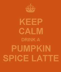 Starbucks Pumpkin Spice Latte yum