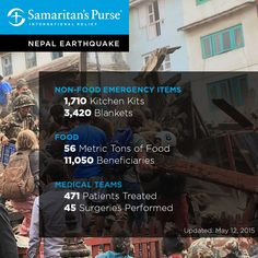 See the many ways that we are helping Nepal earthquake victims.