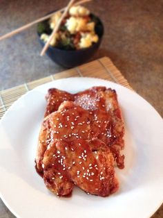 Baked Teriyaki Chicken | Our Paleo Life - *Made 4/18/17 - very, very good! DLH
