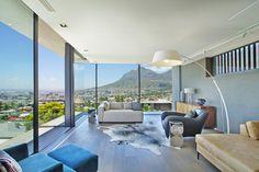 Stylish rental villa boasting views across Cape Town - Adelto Modern Architecture Design, Cape Town, Modern Interior, South Africa, Bedroom, Signal Hill, Luxury, Stylish, Villas