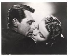 Cary Grant n Ingrid Bergman. Hitchcock's Notorious.