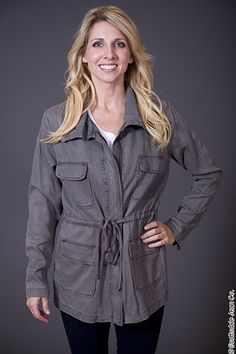 Bella Dahl Anorak Jacket $238.00