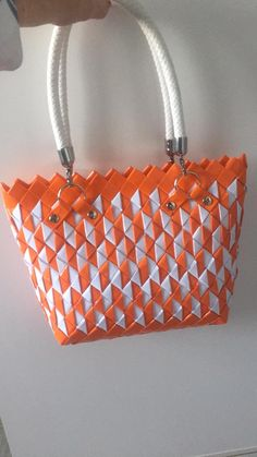 Origami And Quilling, Candy Wrappers, Candy Bags, Louis Vuitton Damier, Diy Bags, Quilts, Tote Bag, Couture, Beauty