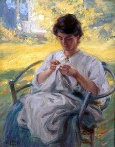 Otto Stark A Summer Morning 1909