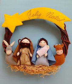 1 million+ Stunning Free Images to Use Anywhere Christmas Decorations Sewing, Handmade Christmas Crafts, Christmas Party Themes, Christmas Sewing, Felt Christmas, Diy Christmas Ornaments, Christmas Nativity Scene, Nativity Crafts, Xmas Wreaths