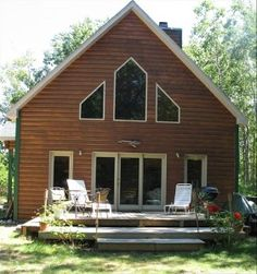 Silver Lake cabin rental - Cabin and Deck