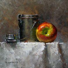 """Turps"" - Pintura a óleo de David Cheifetz"