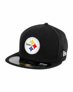 Sideline Road Pittsburgh Steelers New Era LP 59Fifty Cap