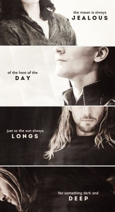 Loki always wanted to be equal to Thor.  Thor always outshone Loki.  Meanwhile, Thor always loved Loki.