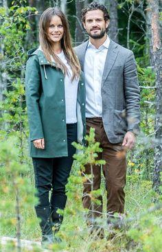 Princess Sofia and Prince Carl Philip visit Varmland - Day 1