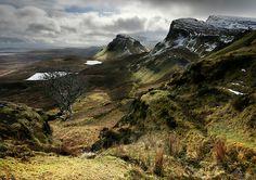 The Quiraing region on the Isle of Skye