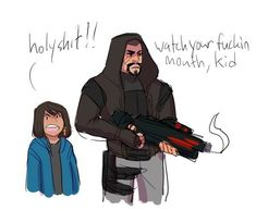 THIS is the kind of dad Gabe would be 110%