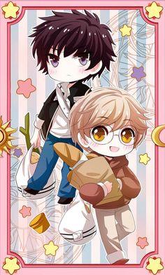 thế giới anime - Touya x Yukito (Cardcaptor Sakura) Anime Chibi, Anime Kawaii, Manga Anime, Anime Art, Cardcaptor Sakura, Sakura Card Captors, Xxxholic, Clear Card, Anime Life