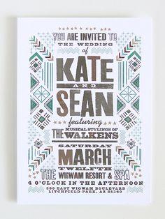 custom poster design  Good South   #southwestern #wigwam #native
