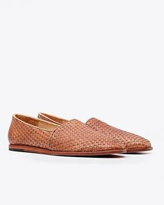 Men's Woven Leather Slip On | Ethically Made & Fairly Priced (Nisolo)