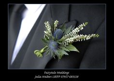 wedding flower thistle - Google Search