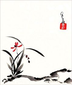 sumi e orchidee - Google zoeken