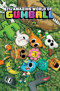 THE AMAZING WORLD OF GUMBALL #4 Retail Price: $3.99 Author: Frank Gibson Artist: Tyson Hesse Cover Artists: A. Missy Pena  B. Irena Flores C. Justin Oaksford (Incentive)
