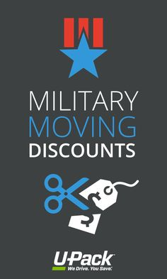 Find military moving discounts and other ways to save (especially if you're making a DITY/PPM move! Military Girlfriend, Military Love, Army Love, Military Spouse, Military Families, Veterans Discounts, Military Discounts, Moving Tips, Moving Hacks