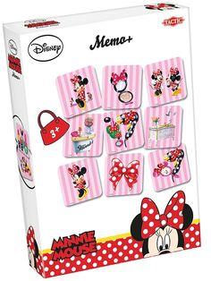 Ihanalla Minnie memo -muistipelillä voit nyt testata muistiasi Minnin kanssa. Pienet yksityiskohdat värikkäissä kuvapaloissa lisäävät haastetta ja ovat monen tytön mieleen! Jo vuosikymmenien ajan on tämä ihana peliklassikko auttanut lasten muistia ja hahmottamiskykyä kehittymään viihteellisellä vetovoimallaan.