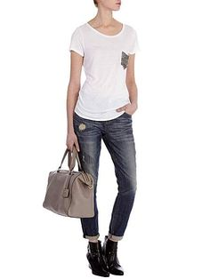 Stud Pocket T-Shirt