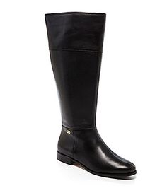 Cole Haan Primrose Wide Calf Riding Boots #Dillards