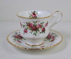 Vtg Paragon China Demitasse Tea Cup County Fair Brushed Gold Trim 1963 Present   eBay
