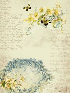 Spring Background paper free to use by astrid.maclean, via Flickr