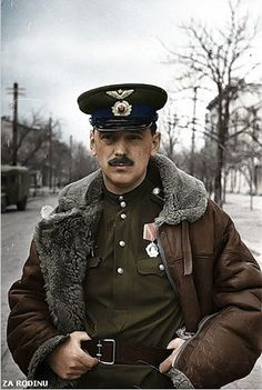 Sergey Mikhalkov - Soviet fighter pilot ww2