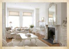 Shabby Chic Interiors: White home in London