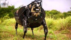 U.S. Marines' Newest Robot - Legged Squad Support System (LS3)
