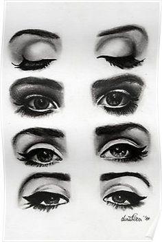 Lana del rey eyes Posters
