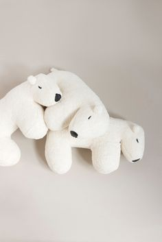 Baby Bedding Cute Animals Plush Doll Cotton Lion Penguin Bear Pillow Soft Toys For Children Kids Bedding Sleep Cushion Baby Decoration Room Clear And Distinctive